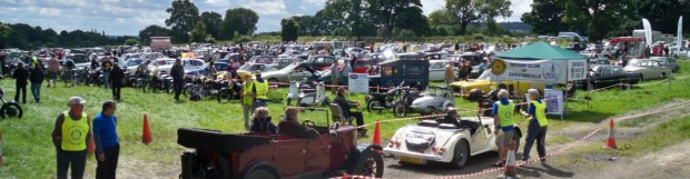 Ashover Charity Classic Car & Bike Show was a success