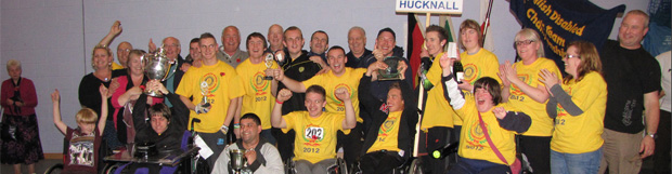 Hucknall Team Win 31st Annual Disabled Games