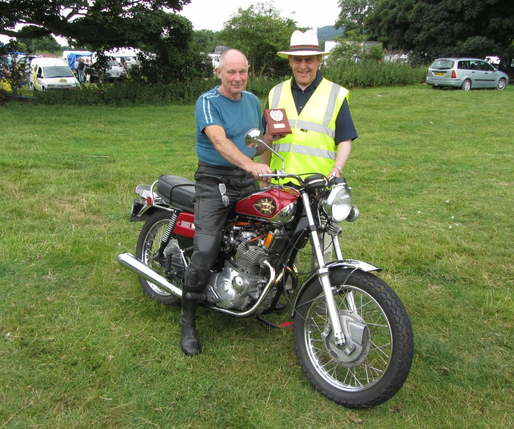 Ashover Bike Show winner 2013