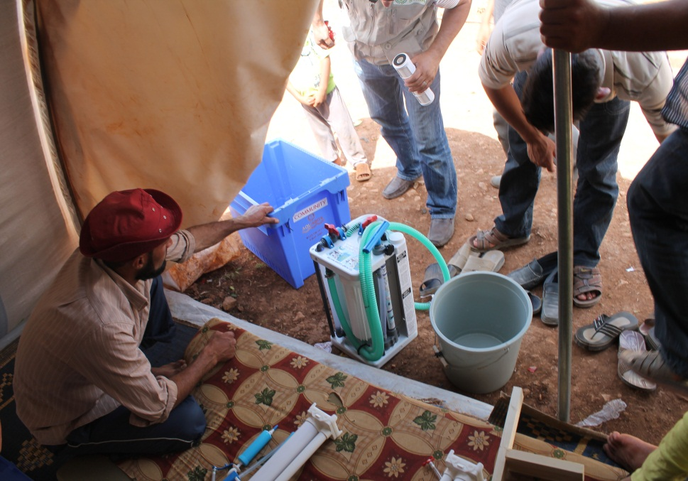 Aquabox Community being used in Syria