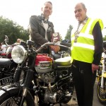 Winning Classic Bike won by Lawrence Bradley of Bolsover