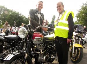 2014 winning Classic Bike won by Lawrence Bradley of Bolsover