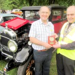 Winning Classic Car with owner Bob Ferguson of Eckington