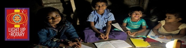 Solar powered lamps appeal