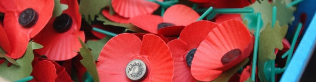 Rotary Club of Dronfield collecting for Royal British Legion Poppy Appeal