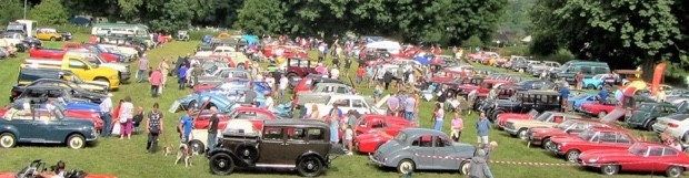 Ashover Classic Car & Bike Show – Sunday 23 July 2017