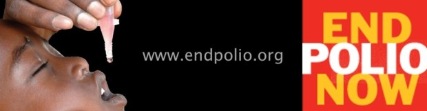 Rotary launches interactive End Polio Now website