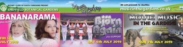 Music In the Gardens 2019 5th – 7th July