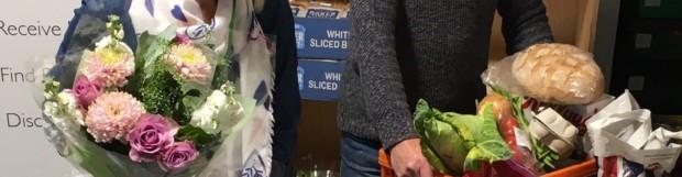 Flowers provide final Jigsaw piece for struggling families in Matlock area