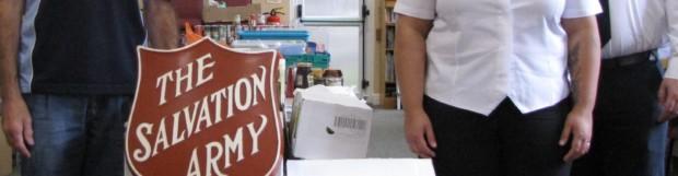 Salvation Army Ripley Sings Rotary Club praises